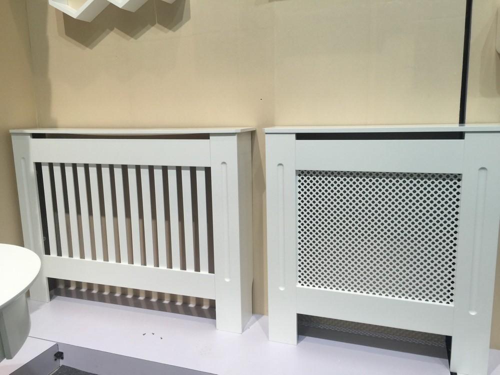 Copertura In Legno Bianco : Verniciato bianco casa radiatore mobile di copertura in legno mdf