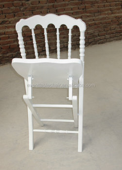 Used Elegant Folding Napoleon Chairs For Hot Sale