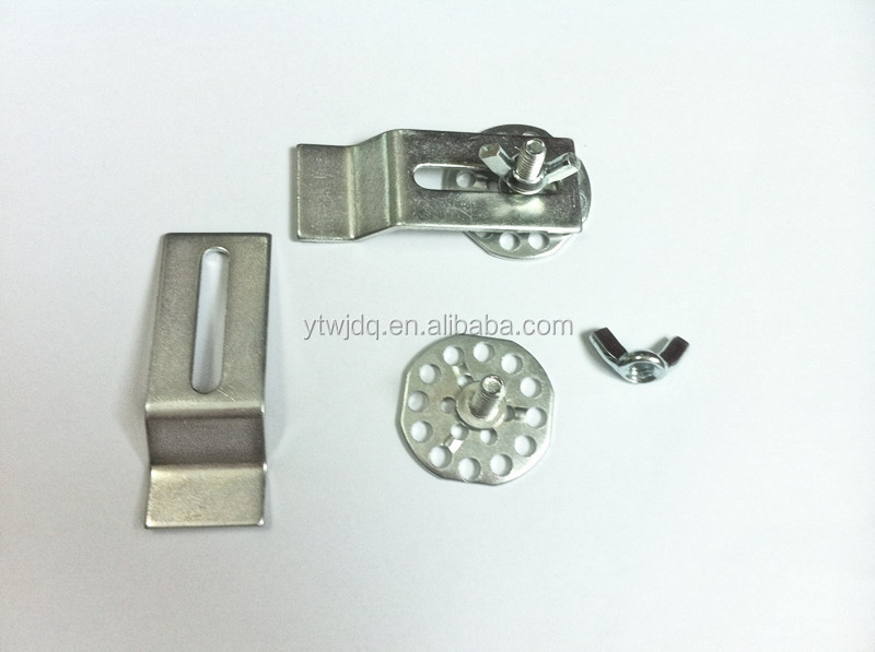 wingnut and clips flange for kitchen sink - Kitchen Sink Clips