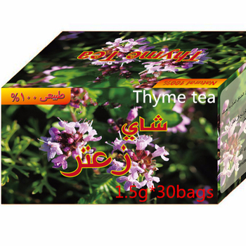 Thyme Tea Flavor Bagged Herbal With Individual Aluminum Envelope