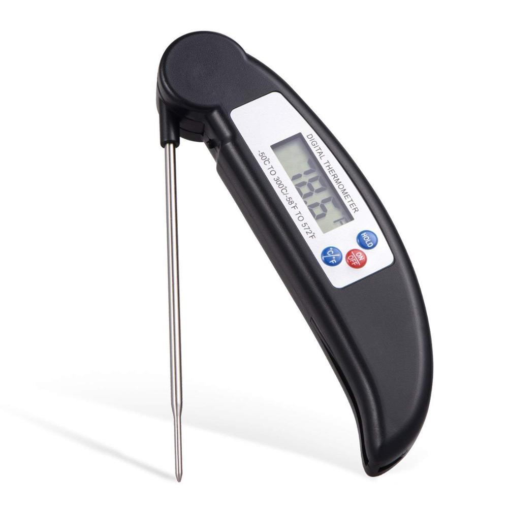 Digital Meat Thermometer with Stainless Steel 304 Temperature Probe