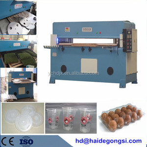 leather/foam/EVA/sponge/plastic sheet hydraulic die cutting machine