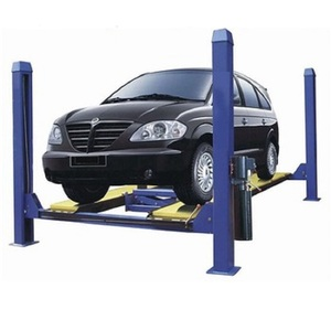 Hydraulic Used 4 Post Car Lift for Sale with Good Quality 4 Post Car Lift From China