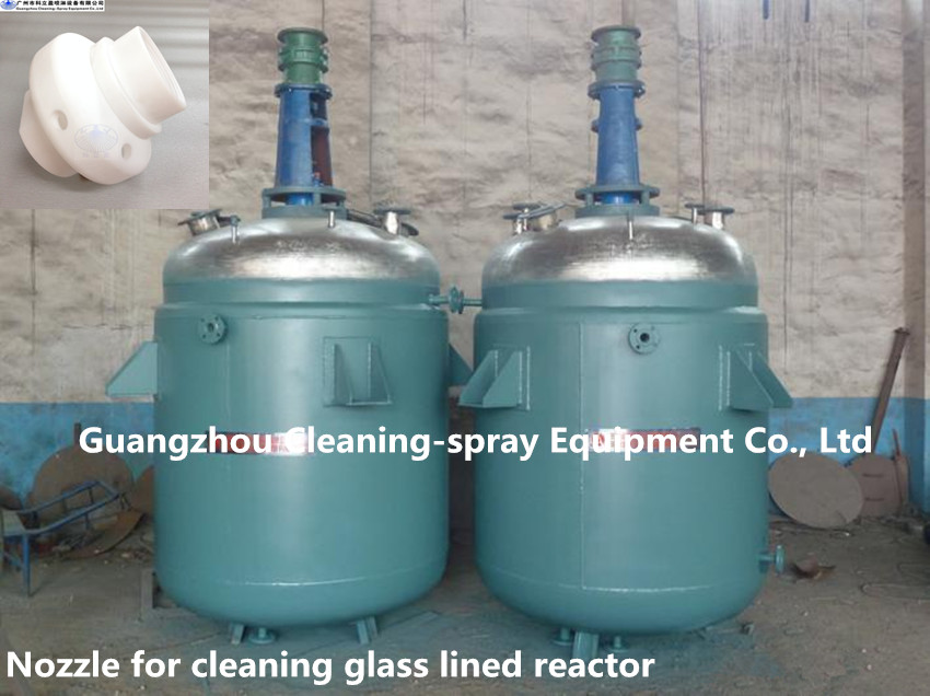PTFE tank cleaning nozzle
