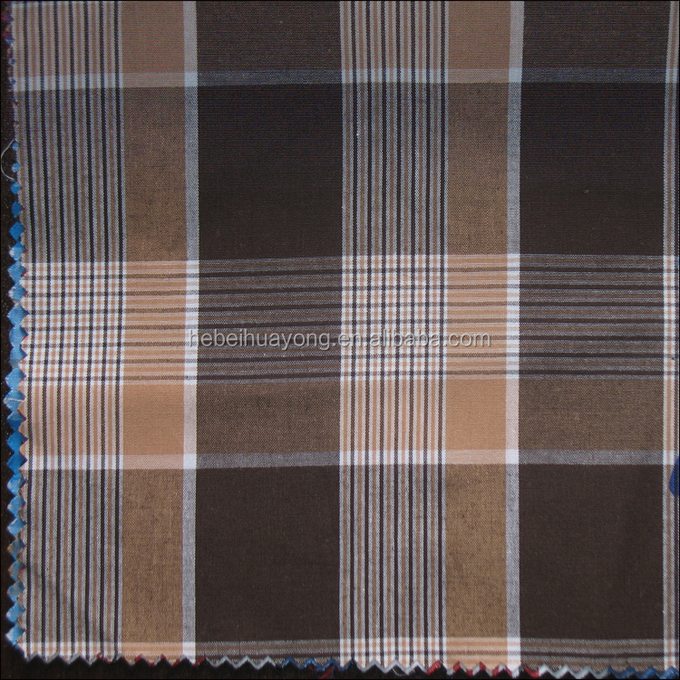 yarn dyed checks shirting fabric cheap wholesale 100 cotton checks fabric