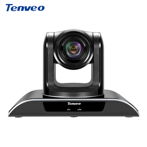 HD 1080p 720p free driver 10x optical zoom video USB webcam for online meeting(TEVO-VHD102U)