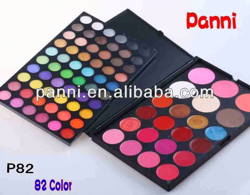 82 multi-colored makeup kit organic cosmetic brands SP82