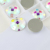 Round Shiny Color Crystal Flat Back Sew On Beads For Dresses