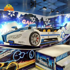 popular indoor kiddie amusement rides rotating flying car for sale