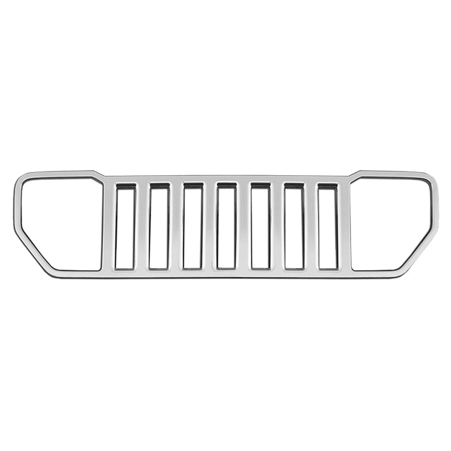 Premium FX 1pc Chrome Grille Overlay for 2008-2013 Jeep Liberty Sport