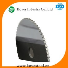 Carbide Tipped circular solide stone cutting band saw blade for cutting metal
