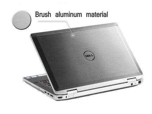 Factory wholesale laptop stickers for Dell latitude E6420 LCD back cover  skins
