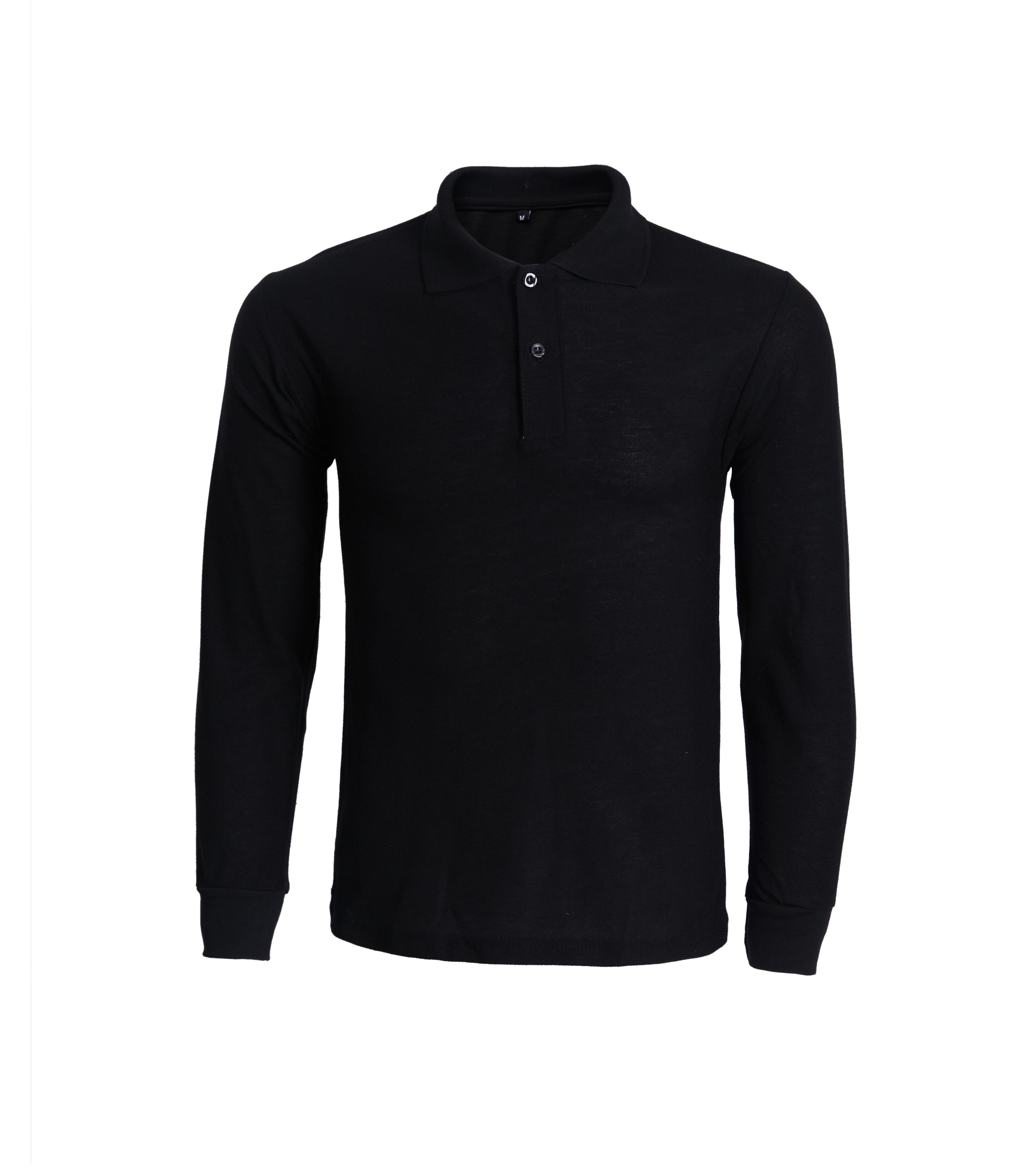 High quality wholesale mens long sleeve polo tee shirt фото