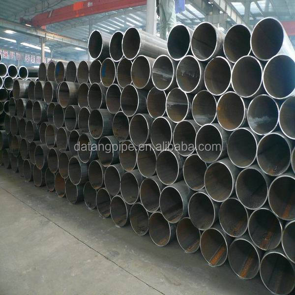 Schedule 40 ASTM A53 API 5L GR.B Carbon Black Ms ERW Pipe