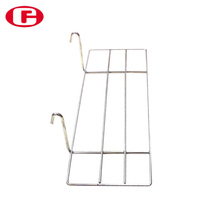 Chuangfeng conveniente shoe display metallo rack per pannelli forati H13
