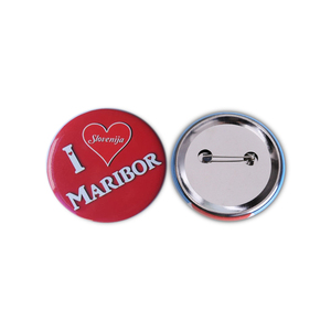 New Arrive Wholesale Price Customized Metal Promotion Round Badges Making Dia58mm Custom Badge Mini Button Pin