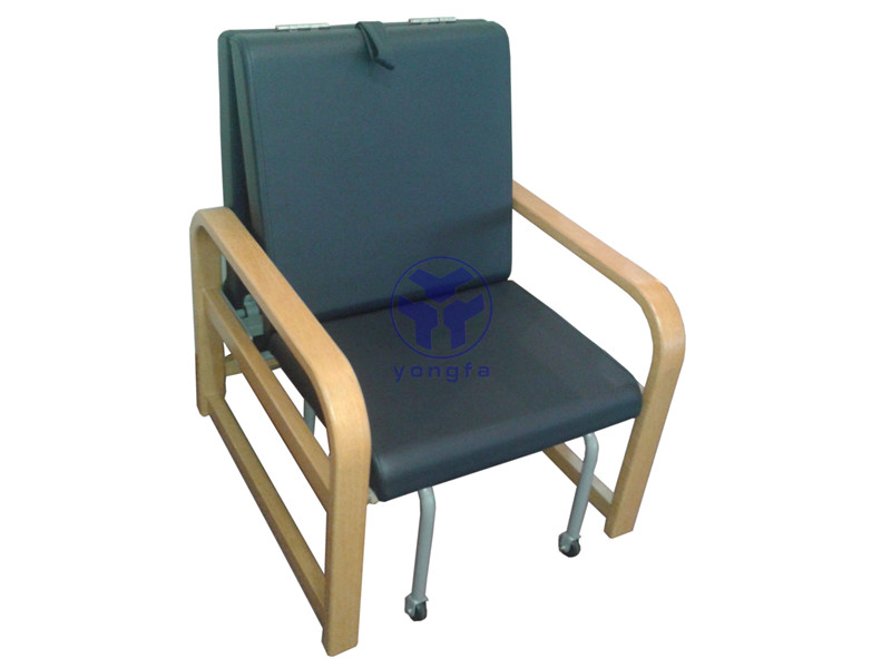 The Comfortable Wooden Hospital Sleeping Chair