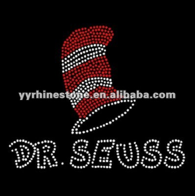 DR. SEUSS rhinestone iron on transfer