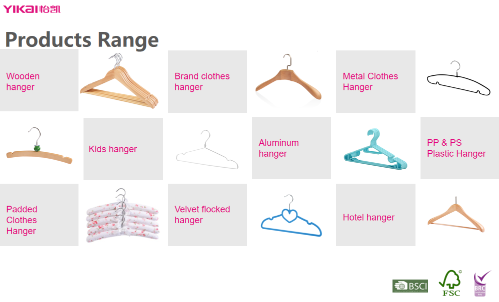 High End Scarves Belt Tie Hangers Rose Gold Metal Wire Hangers