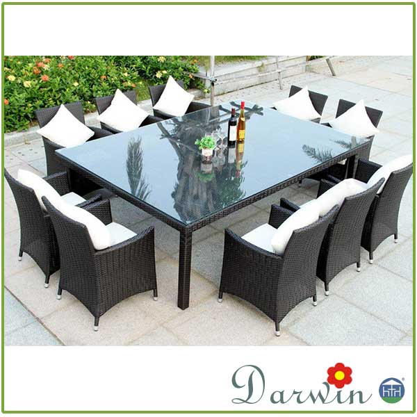 Patio furniture dining sets rattan wicker table and chairs sale