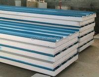 roof/wall sandwich panel/zinc aluminium coated steel sandwich panel