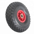Wholesale Factory Golf Trolley Tyre Flat Free Wheel With Plastic Rims