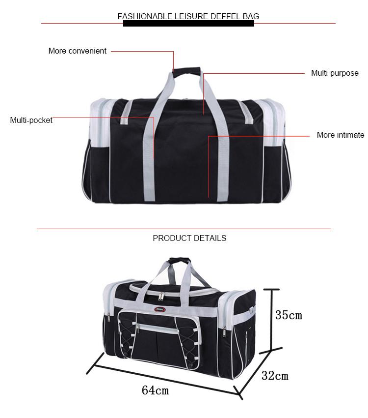 fa33e7e8fbe Big Capacity Gym Bag Large Outdoor Multifunction real madrid sports bag  Duffel Bag