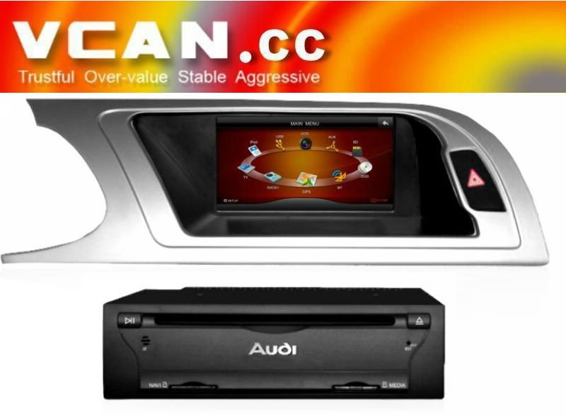 Audi A4 Touchscreen DVD player Navigation with BT RDS TV IPOD: VCAN0365