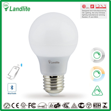 Landlite Wholesale Energy Saving Gls Lamp 9W E27 E14 110V 220V Edison Bluetooth Smart Led Light Bulb Housing