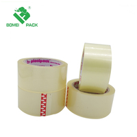 Cinta de embalaje Transparent and Brown BOPP Carton Sealing Tape acrylic or hot melt tape