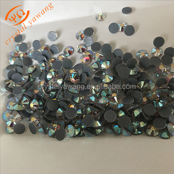 Loose Hot Fix New York Crystal Ab Rhinestones For Jean Pocket