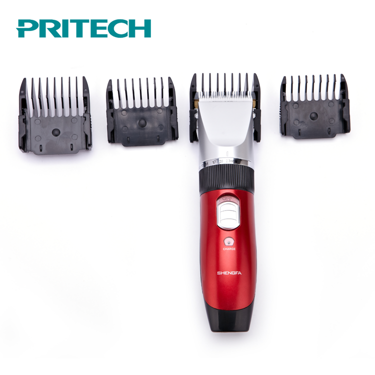 PRITECH Good Performance Rechargeable Professional Electric Hair Clipper Trimmer фото