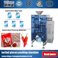 Quality Assurance Chili/Milk Powder Packing Bag Processing Equipment