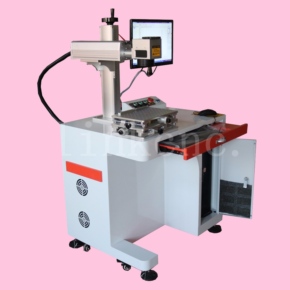 True picture & Best brand LINK LXFiber-20w/laser marking machine for jewellery