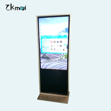 43 inch gold super slim advertising player, LED advertising display, digital advertising machines