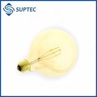 8W 800-880LM E27 G125 LED Filament Globe Bulb 60W Equivalent