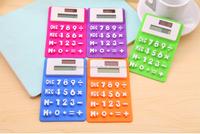 Promotional Two Power Silicone Mini Pocket Scientific Calculators