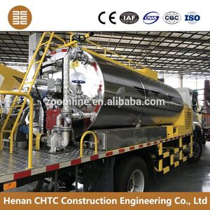 Low power implementations 8000L road building truck easy to operate