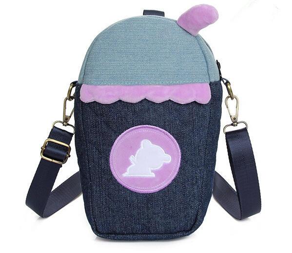 Buy Korean Cute Small Jeans Shoulder Bag Mini School Bags For ...
