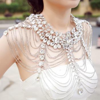 fancylove joyería nupcial vestido de boda collar accesorios de