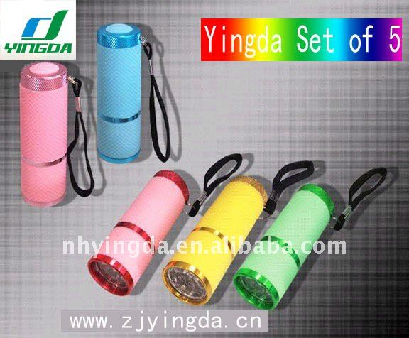 Yingda factory price aluminum AAA aluminum flashlight housing