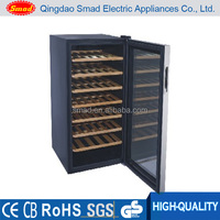98L compressor wine cooler wine bottle chiller portable wine cabinet