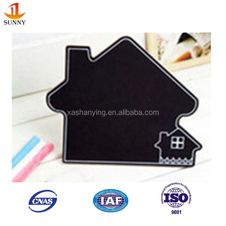 Child decorative wood mini chalkboards