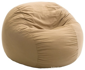 TS-30 modern brown Coral Velvet soft garden fur Chair beanbag bean bag