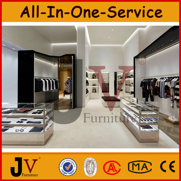 Clothing showroom design for interior decoration