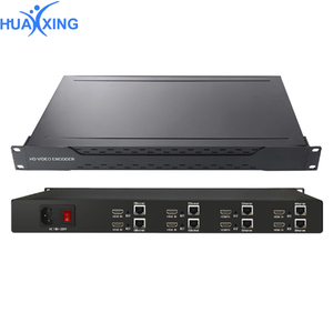 HEVC H.265 H.264 1Ch /4Ch /8Ch /16Ch SDI To IP Encoder Wireless 3G /HD SDI Streaming HLS RTMP Encoder For Broadcast Camera