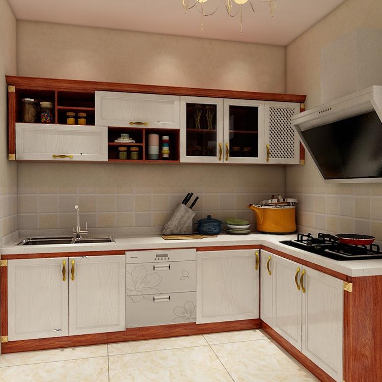 Kitchen Cupboard Storage White Oak & Gold Oak Germany Kitchen Cabinet White  Small Kitchen Cabinet Set - Buy Kitchen Cupboard Storage,Small Kitchen ...