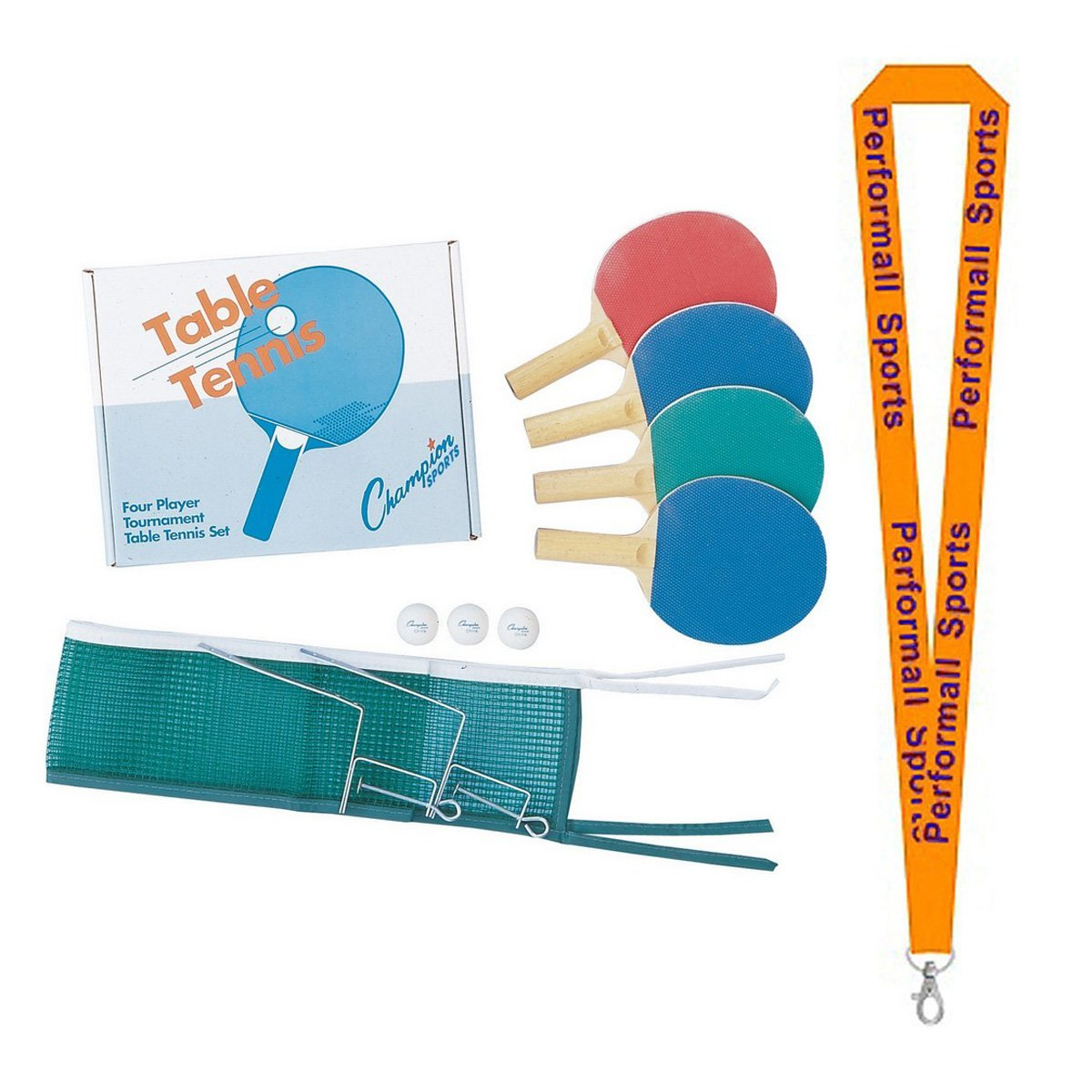 Definitely the Easiest Net /& Post Set to Assemble 603-97 Killerspin Table Tennis Clip-On Net /& Post Set