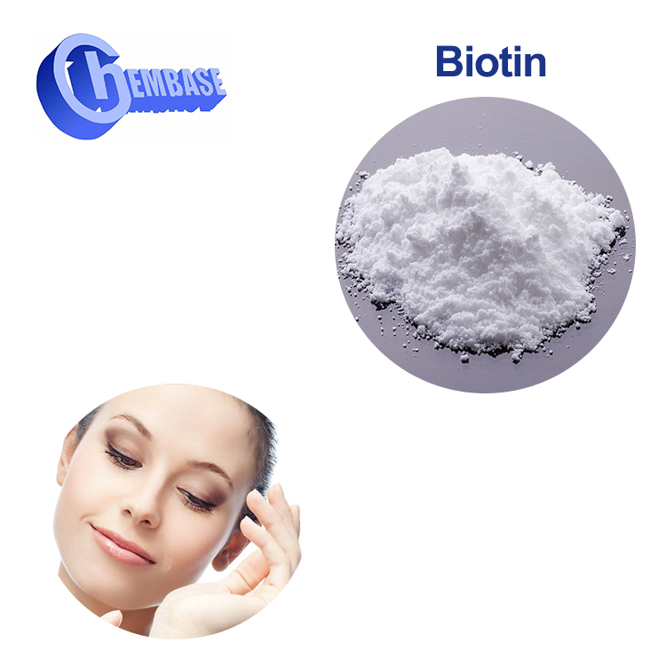 CAS NO. 58-85-5 Top quality vitamin b7 biotin hair growth