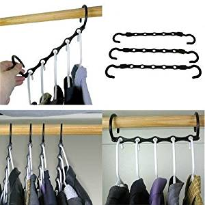 Buy Magic Hangers Set Of 10 As Seen On Tv Save Closet Space Clothes
